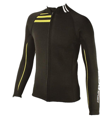 TUSA SPORT UA5121 2MM MENS FULL ZIP LONG SLEEVE