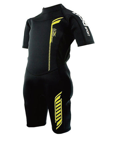 TUSA SPORT UA5301 2MM KIDS SHORTY WETSUIT