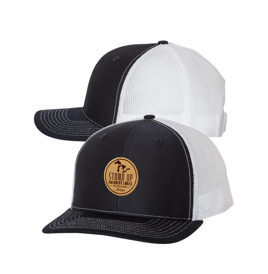 SUFGL Leather Patch Trucker