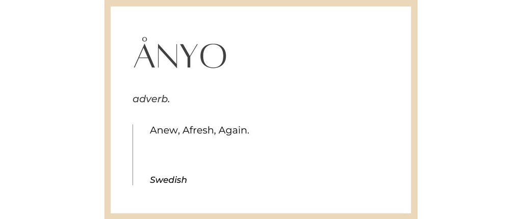 This Is Anyo dictionary definition - Anew Afresh Again Swedish Noun