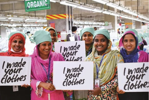 I made your clothes. Garment factory workers in Dird Bangladesh