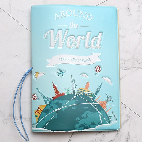 Passport Cover Travel Around and Explore