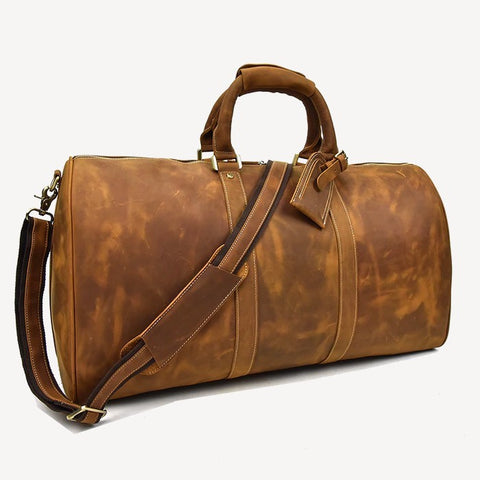 Rhoes Leather Duffel Bag Large