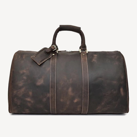 best leather travel duffel bags