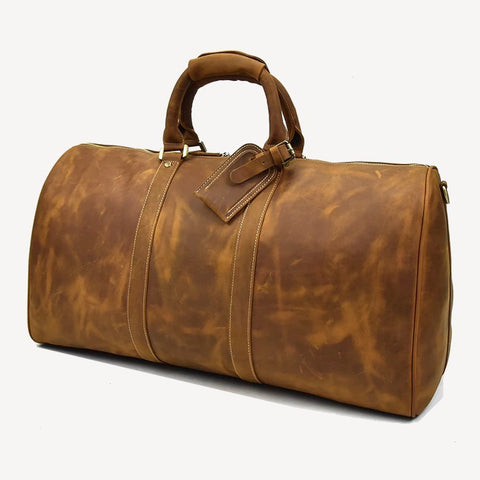 Rhodes Leather Duffel Bag
