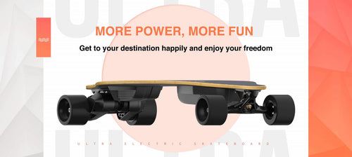 13S2P High Voltage Fastest Electric Skateboard