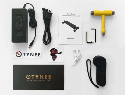 Tynee Board Package Contents