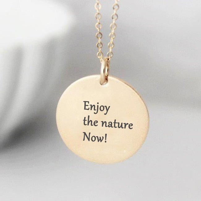 S925 Sterling Silver Snow House Necklace Sunrise Necklace Nature Necklace