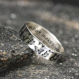 925 Sterling Silver Personalized Butterfly Ring Butterfly Necklace Do What Makes Your Soul Shine