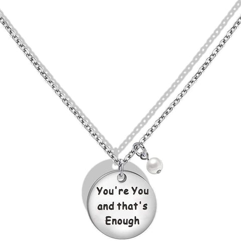 You're You and That's Enough Dear Evan Hansen Inspired Adjustable Necklace Bracelet Theater Gift Actor Gift