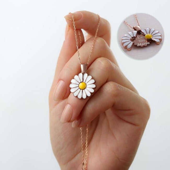 Daisy Named Necklace