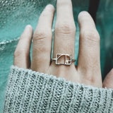 Golden Ratio Ring, Math Jewellry, Gift for Women, Science Ring Gift