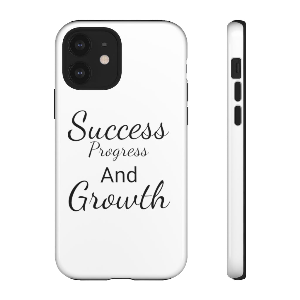 Tough Cases Success Progress And Growth custom