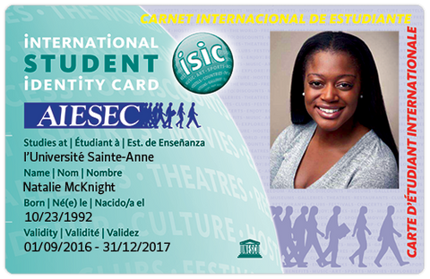 AIESEC International Student Identity Card