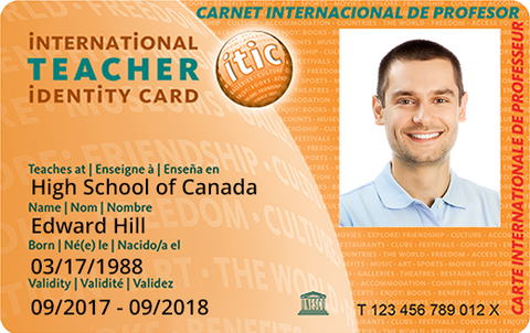 International Teacher Identity Card
