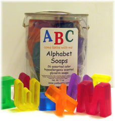 ABCs Shaped Soaps