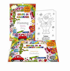 Personalized Color In-Activity Book
