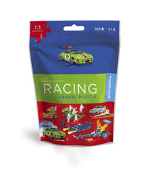 100 Piece Racing Puzzle Travel Pouch