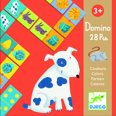 Djeco Animal Color Dominoes