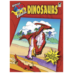 3D Dinosaur Coloring Book