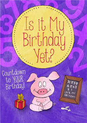 Personalized Hard Cover Children's Book - Is it My Birthday Yet?