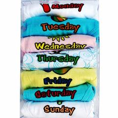 Days of the Week Underwear- 7 Pack