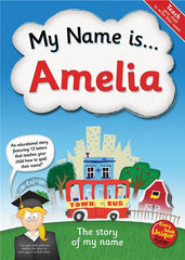 Personalized Hard Cover Children's Book - My Name Is...