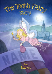 Personalized Hard Cover Children's Book - Tooth Fairy