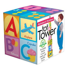 eeBoo Alphabet Tot Tower