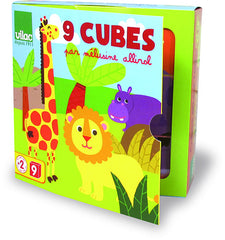 Melusine's Animal Cube Puzzles