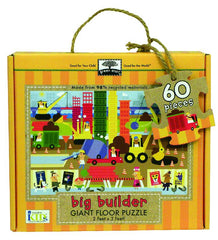 60 Piece Big Builder Floor Puzzle