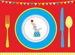 Big Top Circus Placemats
