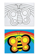 Melissa & Doug Butterfly Canvas Creations