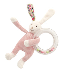 Capucine Rabbit Teether Rattle