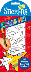 Color Me Jet Planes Stickers