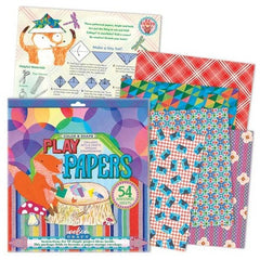 Color and Shapes Play Paper