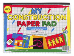 Alex Toys My Construction Paper Pad