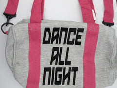 Dance All Night Sweatshirt Duffle Bag