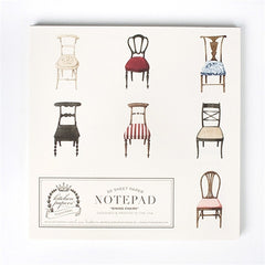 Dining Chair Notepad