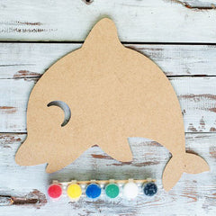 Wooden Shapes Paint Kit- Dolphin