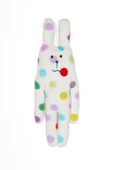 Small Polka Dot Rab Bunny Hug Toy