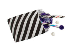 Favor Bags- Black Stripe
