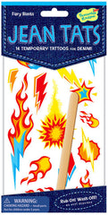 Fiery Blasts Jean Tattoos