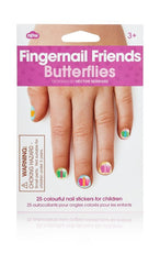Butterflies Fingernail Friends