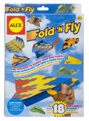 Alex Toys Fold N Fly Paper Airplanes