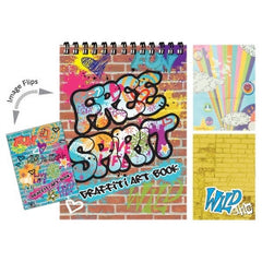Free Spirit Graffiti Art Activity Book