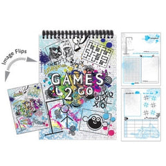 Games 2 Go Activity Book
