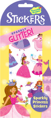 Sparkly Princess Glitter Stickers