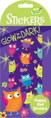 Glow-in-the-Dark Happy Owl Stickers