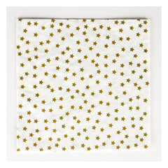 Paper Party Napkins- Golden Stars